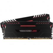 Memorie Corsair Vengeance LED 2x8GB DDR4 2666MHz C16 - Red LED
