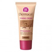 Dermacol Toning Cream 2in1 bb крем 30 ml за жени 06 Caramel