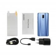 EY HOMTOM S8 De 5,7 Pulgadas 4G RAM 64G ROM De Doble Cámara Trasera Azul-Teléfono De Huella Dactilar