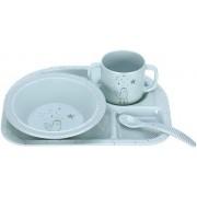 Dish Set Melamine/Silicone More Magic Seal