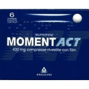 Angelini Spa Momentact 6 Compresse Rivestite 400 Mg