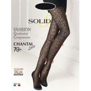 Solidea By Calzificio Pinelli Chantal 70 Lace Nero 1-S