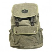 Classic Canvas Backpack for Hiking Camping Backpacking Trekking - Cedar Gear PRIME Series - Daypacks Computers Laptop Backpacks Unisex Casual Rucksack