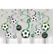 Swirls Voetbal 12 stuks