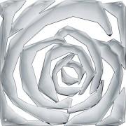 Koziol Panel dekoracyjny Romance 4 szt. antracytowy transparentny