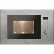 Cuptor cu microunde incorporabil Candy MIC20GDFX, 20 l, 800 W, Grill, Inox