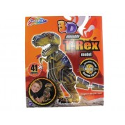 3D Movable T-Rex Model Kit - 3D Dinosaur Puzzle (41pcs)
