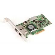 PLACA DE RETEA: BROADCOM 5709; DUAL 10/100/1000 Mbps; PCI-E; REF