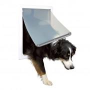 TRIXIE Portinhola p/ cães 2 sentidos M-XL 39x45 cm branco
