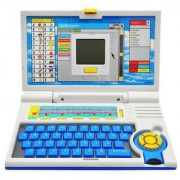 English Learner Kids Educational Laptop with Mouse 20 Activities and Games (Blue)