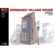 NORMANDY VILLAGE HOUSE épület dioráma makett Miniart 35524