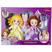 Princess Sofia The First And Princess Amber Soft Doll Set