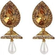 Jewels Gold Party Wear For Wedding Latest Fancy Jhumki Earring Set Fancy Simple Jhumki Earring Set For Women Girls