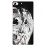 Plastové pouzdro iSaprio - BW Owl - Lenovo Vibe X2