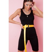 JFR Cycling Playsuit - Stacy Black
