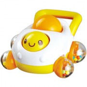 Magideal Auby Baby Rattle Mobile Cartoon Car Shape Rattles Baby Toy Sounding Toys