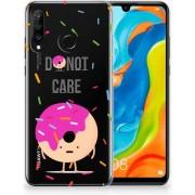 Huawei P30 Lite Uniek TPU Hoesje Donut