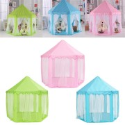 Portable Princess Castle Play Tent Activity Fairy House Fun Play House Toy 55.1x55.1x53.1 Inch