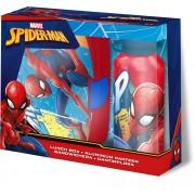 Marvel Spider-Man Brotdose Und Thermosflasche