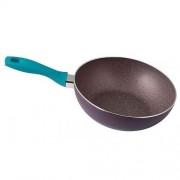 Tigaie din aluminiu, acoperire teflon cu puncte de marmura Heinner Capricio, Diametru 24 x 4.5 cm