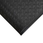 Černá gumová protiskluzová protiúnavová průmyslová rohož - 18,3 m x 120 cm x 0,9 cm (80000604) FLOMAT