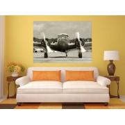 Tablou grand canvas avion vintage - cod Z17