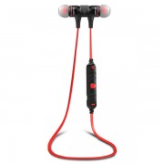 AWEI A920BL Wireless Bluetooth 4.0 Sports Stereo Earphone - Black / Red