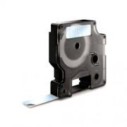 Dymo D1 DY40910 laminált feliratozószalag 9mm fekete/átlátszó