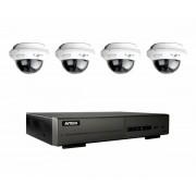 AV-TECH HDTV-system inomhus 4 kameror, NVR med 4 kanaler, 500GB hårddisk