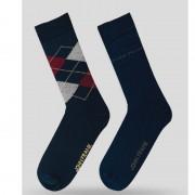 Pánske ponožky John Frank JF2LS19W22 - 2PACK