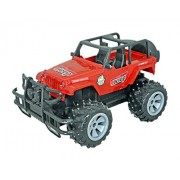 Babysid Collections Remote Control Jeep with Charger for Boys Kids Red Monster Jeep Cross Country Size : Length - 30 x Width - 19 x Height - 16 cm