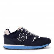 Lotto Sneaker Lotto Tokyo Ginza blu in suede