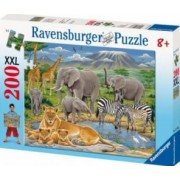 PUZZLE ANIMALE IN AFRICA 200 PIESE Ravensburger