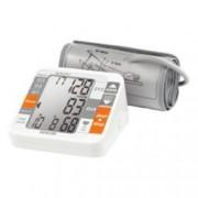Апарат за измерване на кръвно налягане, Sencor SBP690, над лакътя, LCD дисплей, бял