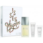 ISSEY MIYAKE L´EAU D´ISSEY HOMME EDT 125 ML+ GEL 75ML + AFTER SHAVE 40ML SET REGALO