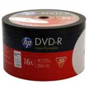 DVD-R HP (Hewlett Pacard) 120min./4.7Gb. 16X (Printable) - 50 бр. в шпиндел