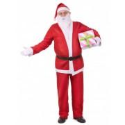 Disfraz de Papá Noel para adulto clásico Única