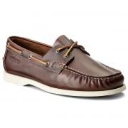 Мокасини CLARKS - Nautic Bay 20358791 Mahogany Leather