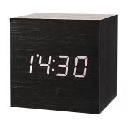 Ceas digital Cube cu alarma si data 6,5x6,5 cm