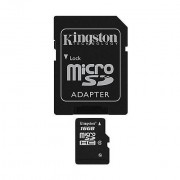 Kingston Memory Card 16gb Microsdhc Class 4 Flash Card