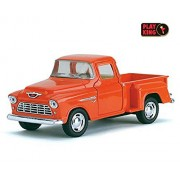 Playking Kinsmart 5'' Die Cast Metal 1955 Chevy Stepside Pick-up, Pack of 1, Color May Vary