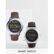 Fossil Смарт-часы с коричневым кожаным ремешком Fossil Q FTW2119 Founder