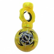 Smalll Finger Tip Magic Ball? Stress Relief Magnetic Control Induction Gyro Ball Toy for Kids? Adults - Yellow