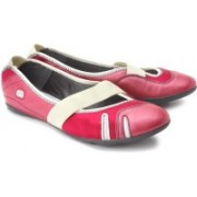 Clarks Idyllic Pump Bellies For Women(Pink, White)