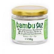 Bambu Salz Bamboezout Fijn 2x Gebrand (150g)