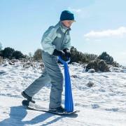 Trottinette de neige snowboard pour enfant