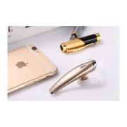 Audífonos Bluetooth Deportivos, V5 Super Mini Audifonos Bluetooth Manos Libres Auriculares Manos Libres Inalámbricos Universal (Oro)
