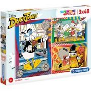 Puzzle Disney Ducktales Clementoni 3x48 piese