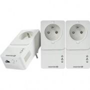 TP-LINK Pack 3 CPL (Courant porteur en ligne) - 500Mbps - 1 Port Ethernet