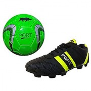 Port Green THK football shoes